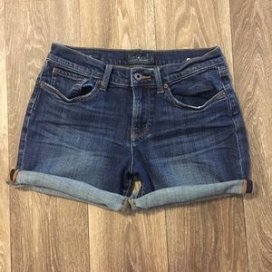 Lucky Brand The Roll Up Jean Shorts